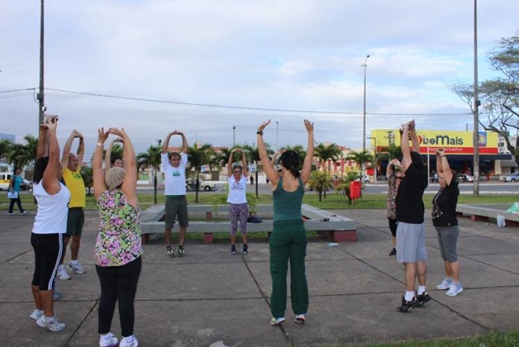 Jampa Saúde na Praça da Paz - Bancários