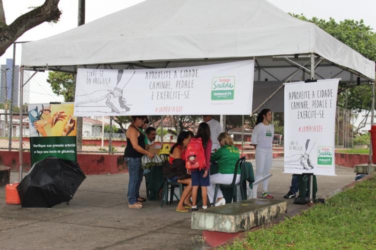 Jampa Saúde na Praça São Gonçalo - Torre
