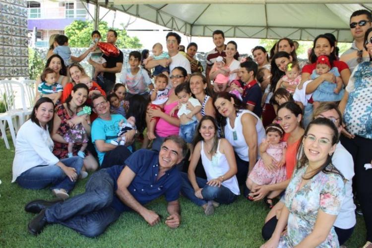 Comemoração do Dias das Mães com Grupo Materno-Infantil