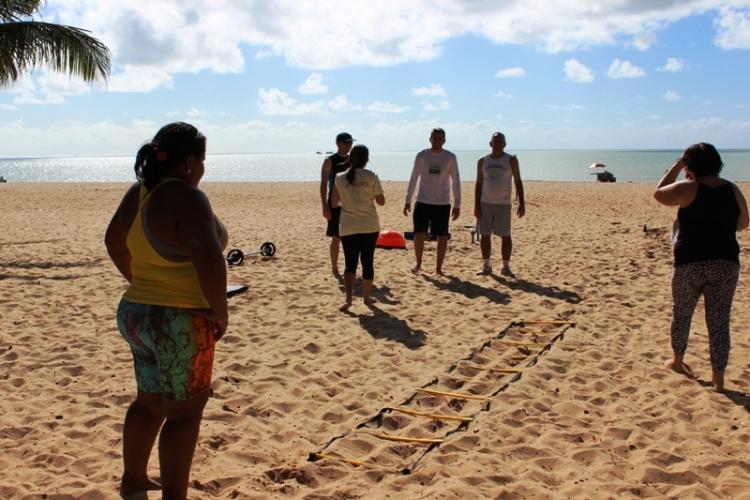 Jampa Saúde atrai pessoense na Praia do Cabo Branco