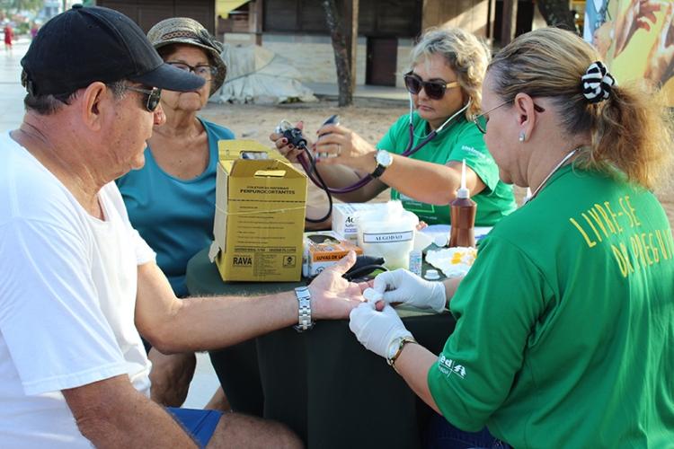 Unimed JP leva atividade física e ações de saúde para orla do Cabo Branco