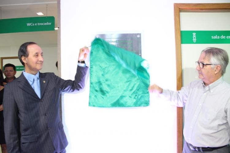 Inauguração do Núcleo de Atenção à Saúde-Sul