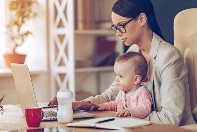 Oficina vai ensinar como alimentar o bebê após a volta ao trabalho