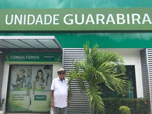 O aposentado Antônio Melo destacou o tratamento humanizado da Unidade Guarabira
