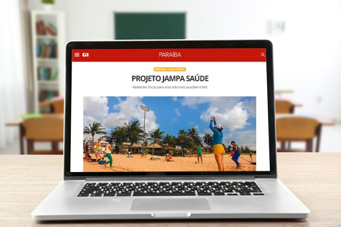 Projeto Jampa Saúde é pauta de matéria especial no site G1 Paraíba