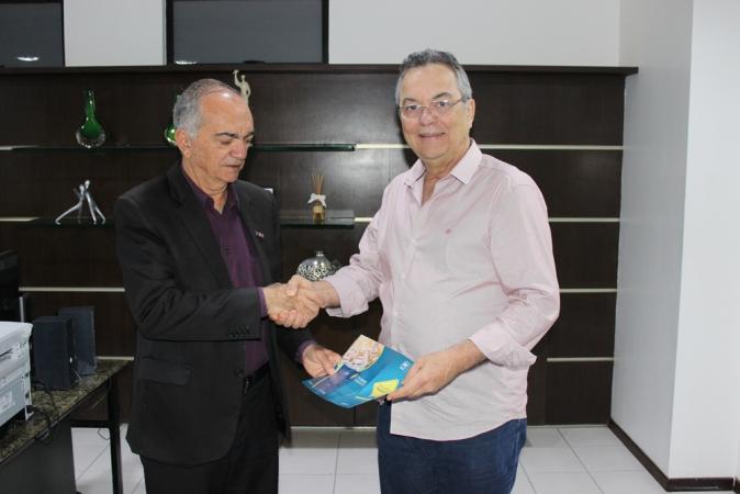 Presidente da Unimed JP recebe visita do superintendente do Detran