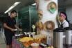 Parentes e acompanhantes de pacientes ganham café da manhã junino