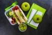 Dicas para montar lancheira escolar com alimentos saudáveis