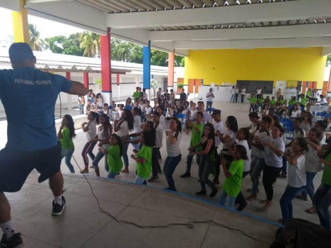 Semana Cidadão da Unimed JP na Escola Raul Córdula