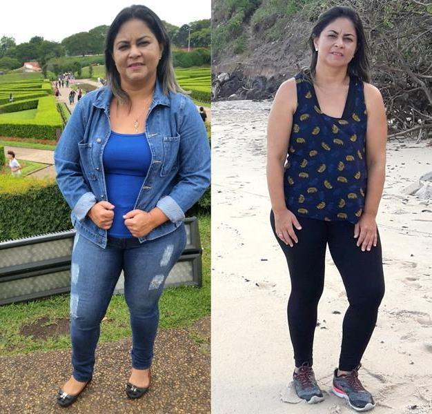 Yaponira ganhou mais saúde, qualidade de vida e muita autoestima depois de perder 16 quilos