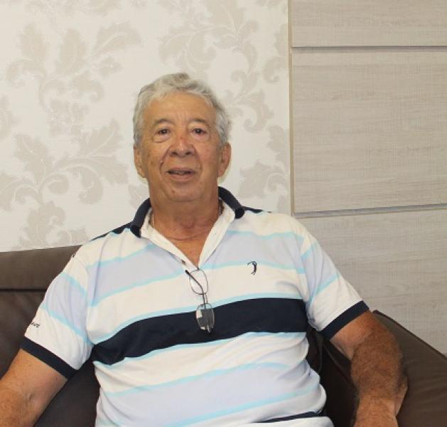 Aposentado José Ronaldo Souza: vida salva no Hospital Alberto Urquiza Wanderley