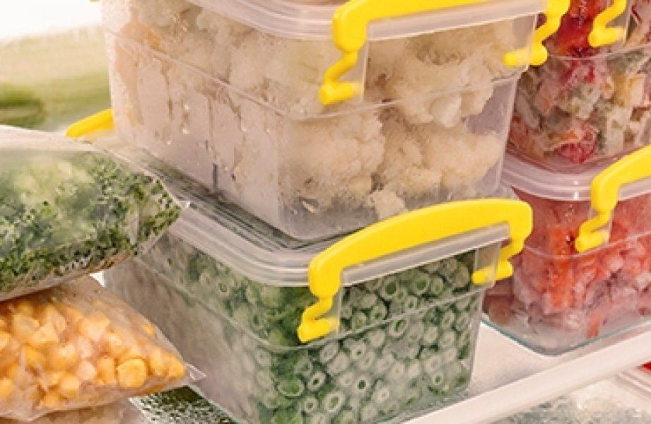 Congelar os alimentos costuma ser opção de muitas famílias: economia de tempo e dinheiro