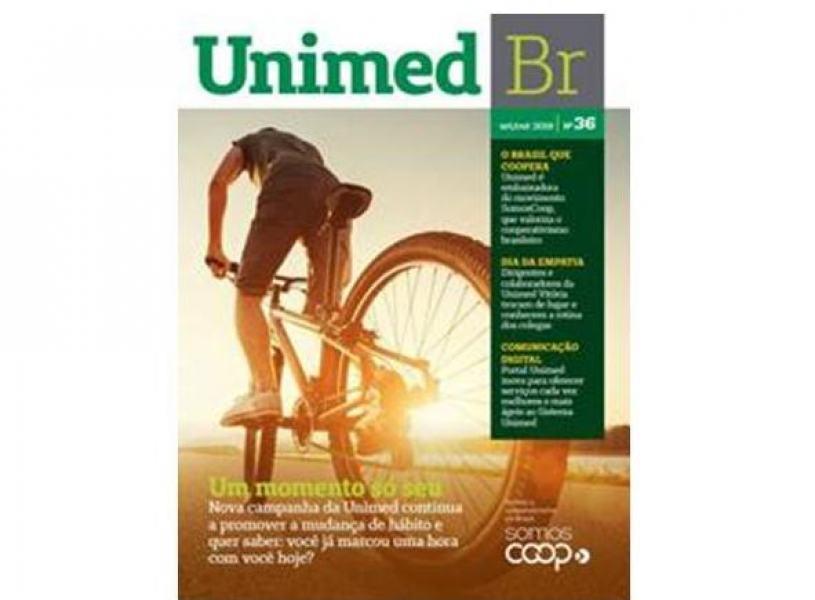 Revista Unimed BR traz notícias sobre as cooperativas médicas de todo o país