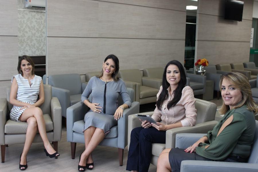 Papo Saúde contou com a participação de quatro mulheres para falar sobre gestação e maternidade