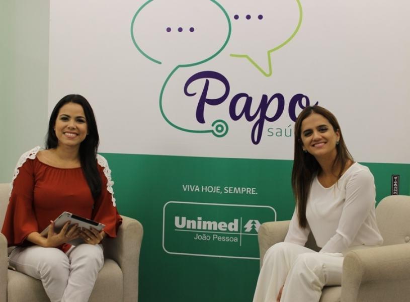 Ginecologista Juliane Dornelas deu dicas e orientações durante o programa Papo Saúde