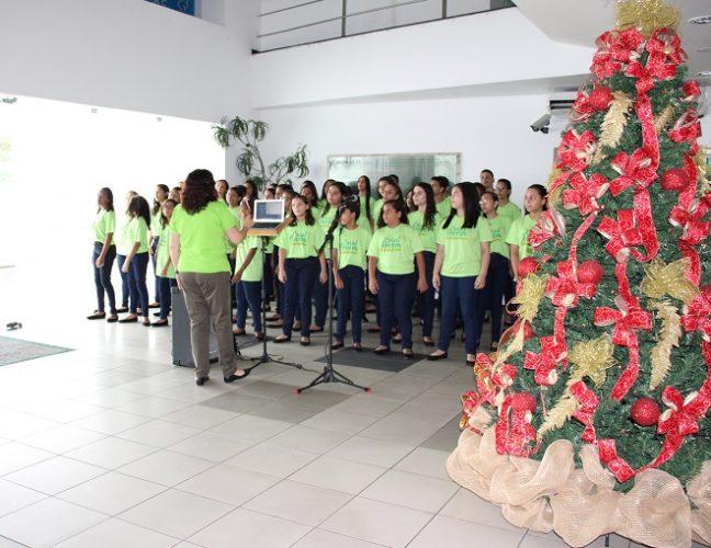 Apresentação de Natal do Coral Jovem Unimed João Pessoa