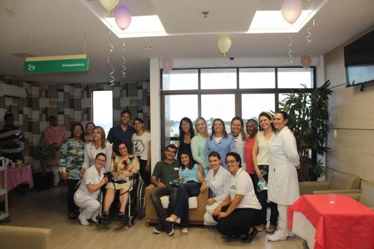 Comemoração do Dia da Mulher: Unidade de Oncologia