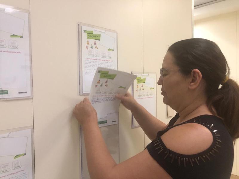 Famílias deixam recados em painel para bebês internados na UTI; confira