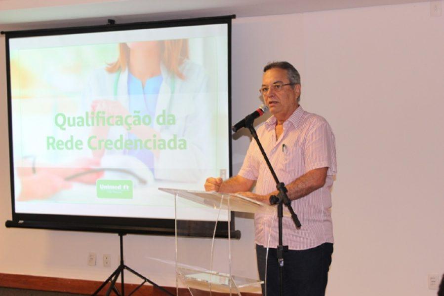 O presidente da Unimed JP, Demóstenes Paredes Cunha Lima: política para qualificar a rede