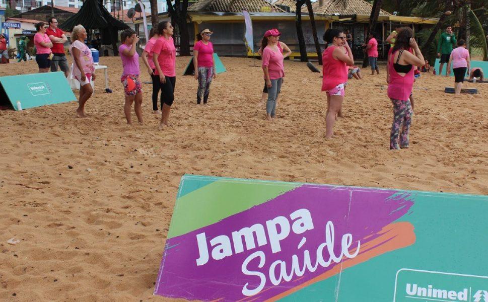 Vista a camisa rosa e venha participar do Jampa especial neste sábado