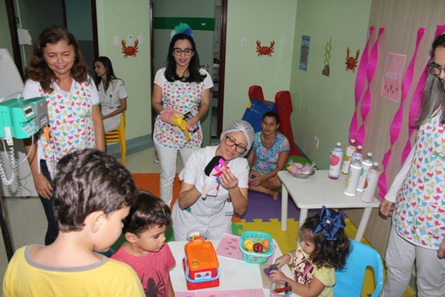 Ações e serviços melhoram a experiência das crianças na unidade hospitalar: diferencial