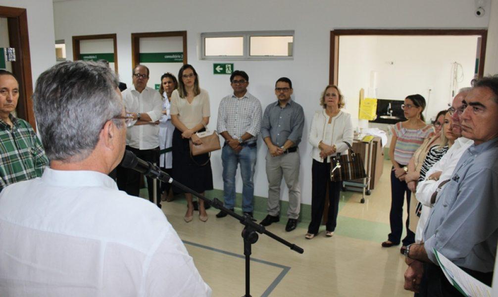 Na cerimônia de inauguração, gestores destacaram a importância do novo serviço