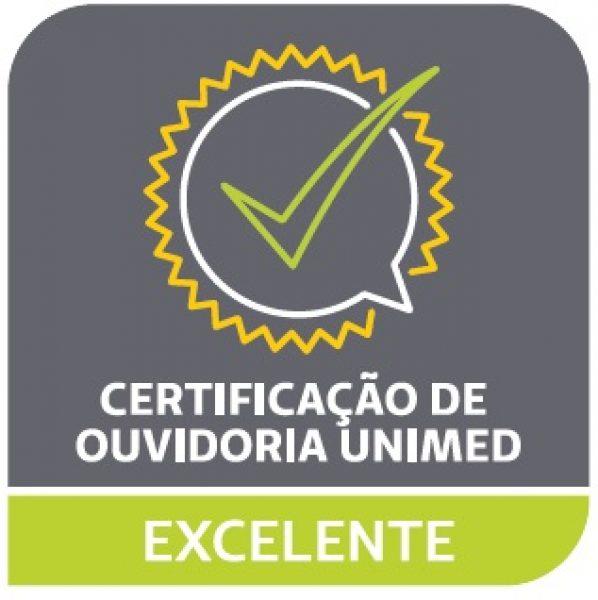 Unimed JP recebe selo de excelência pelo desempenho da Ouvidoria