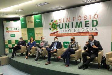 Especialistas debateram as ações inovadoras adotadas pela Unimed JP para enfrentar à covid-19