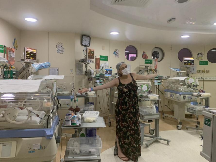 Mulher dá à luz quatro bebês no hospital da Unimed João Pessoa
