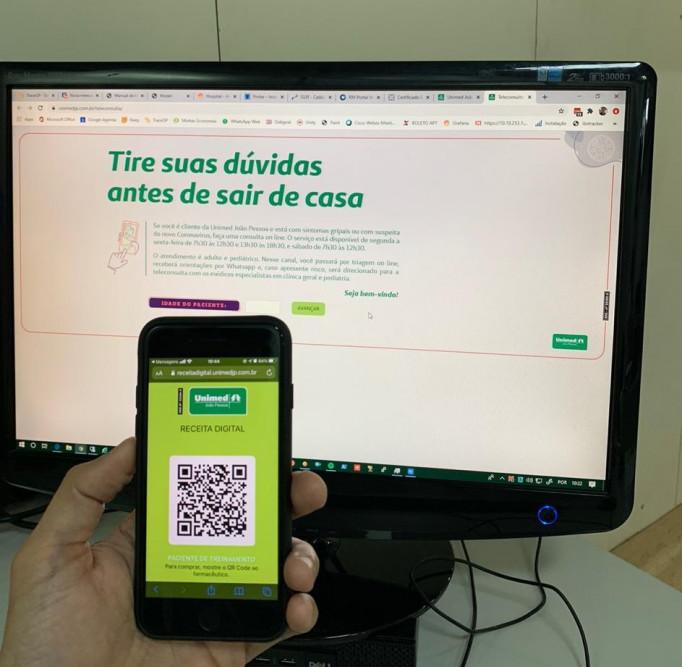 A receita virtual traz inúmeras vantagens para o cliente: tecnologia a serviço da saúde