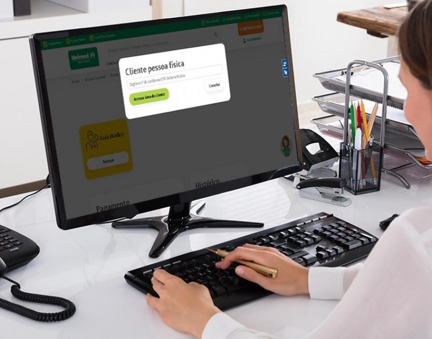 O seu plano de saúde pode ser contratado rapidamente pelo Portal da Unimed JP