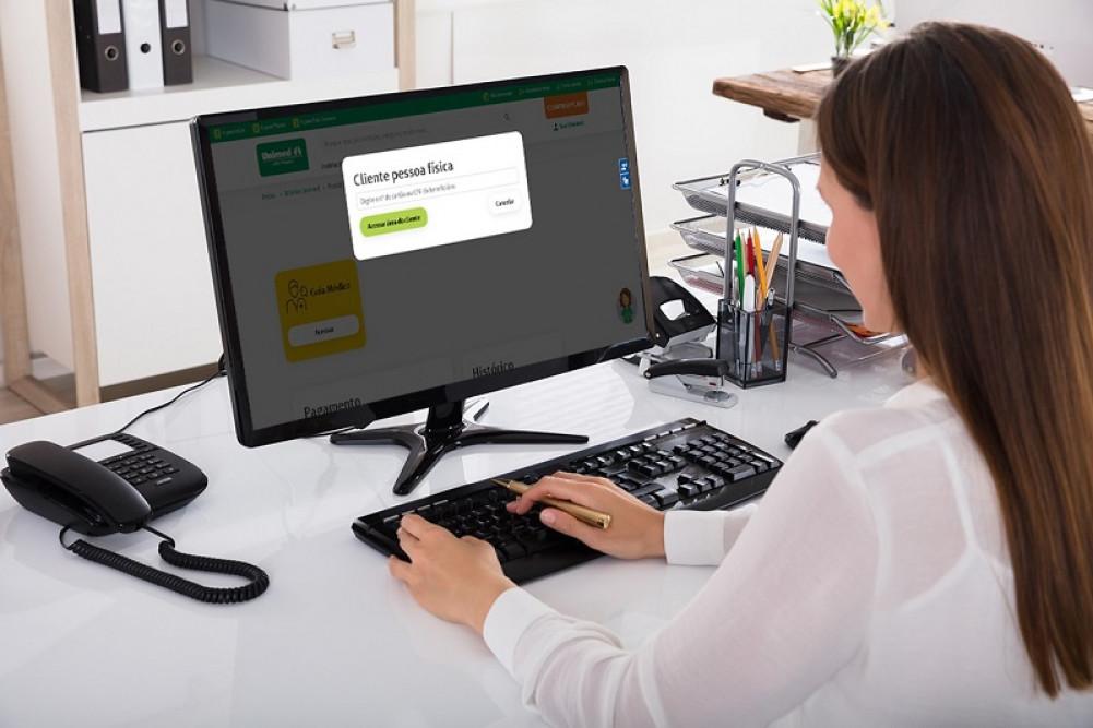 É fácil e rápido aderir a fatura digital pelo Portal Unimed João Pessoa