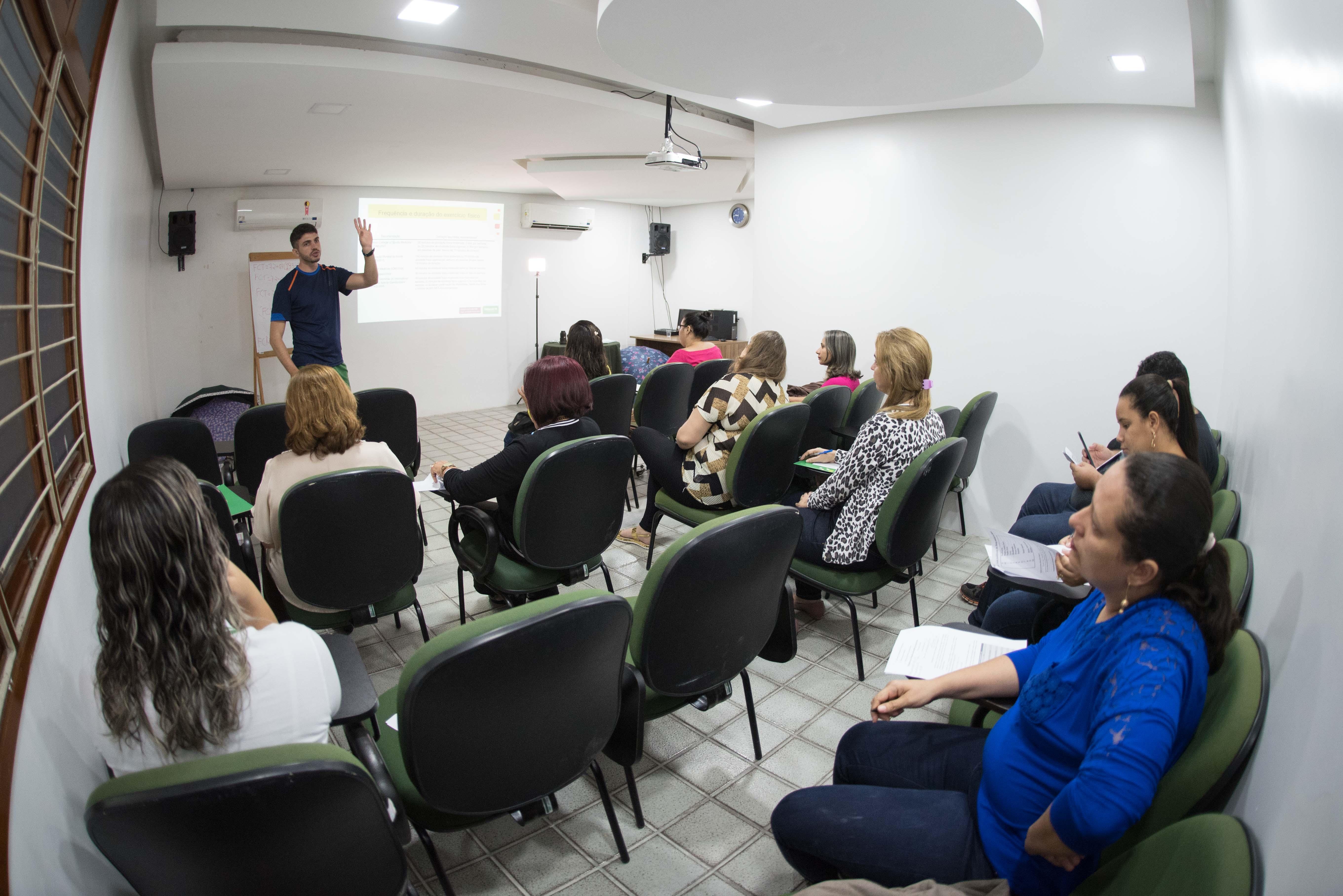 Palestras sobre bons hábitos e qualidade de vida fazem partes das ações programadas no GES-EP