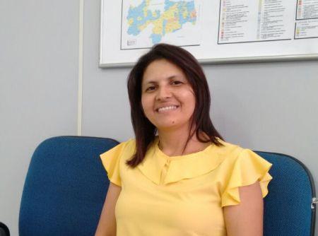 A técnica judiciária Osana Andrade falou sobre a comodidade de ter um atendimento mais próximo