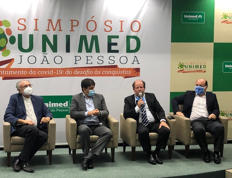 O presidente Gualter Ramalho falou da importância do evento para a Unimed JP