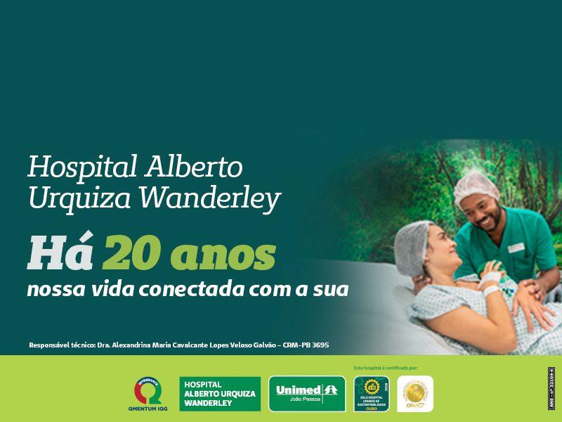 20 anos do Hospital Alberto Urquiza Wanderley