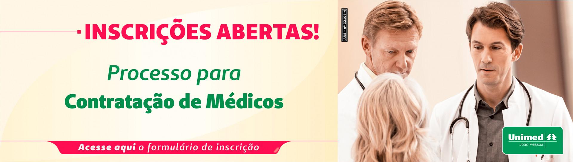 Inscrições Médicos