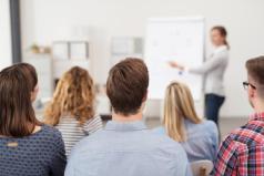 Treinamentos e palestras
